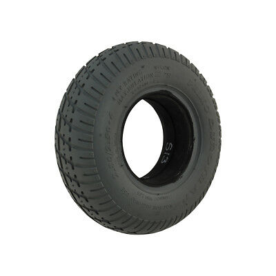 280/250 x 4 Grey Infilled / Solid Durotrap mobility scooter Tyre