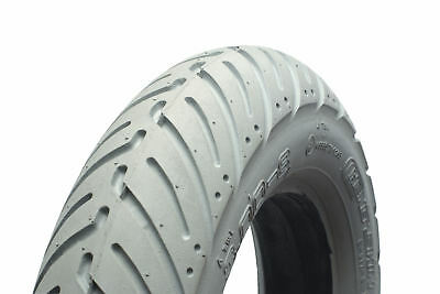 300 x 10 Grey Infilled / Solid Scallop mobility scooter Tyre
