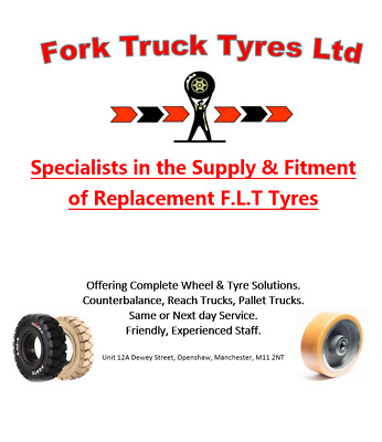 Forklift Tyres Supplied & Fitted