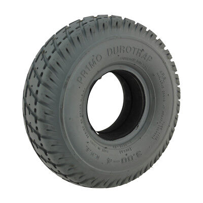 300 x 4 Grey Infilled / Solid Durotrap mobility scooter Tyre