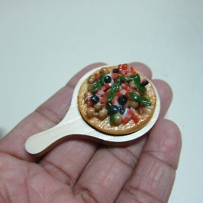 20 Pre-Cut Sausage Pizza Dollhouse Miniatures Fast Food Supply Deco