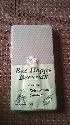 Bee happy Beeswax Candle making Kit  brand new