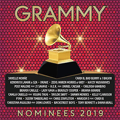 2019 GRAMMY NOMINEES - VARIOUS ARTISTS   Brand New CD