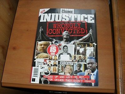Real Crime Magazine 2019 INJUSTICE WRONGLY  CONVICTED NEW