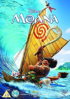 Moana Disney DVD. New and sealed.