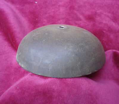 Large 5 Inch Iron Domed Bell For 19Th Or 20Th C Comtoise Wall Clock
