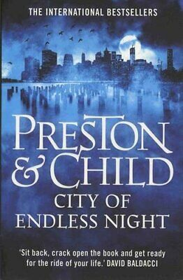 City of Endless Night (Agent Pendergast) by Child, Lincoln Book The Cheap Fast