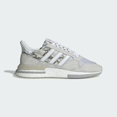 525996f4934e6 Adidas Originals ZX 500 RM White Boost Snakeskin Men Lifestyle gym new  BD7873