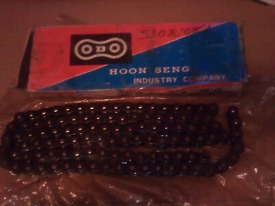 Motorcycle Std Chain 530 x 108    non o ring. New Chain Tatty box FREE POST