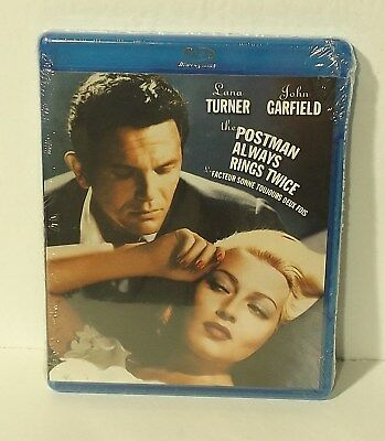 The Postman Always Rings Twice (Blu-ray Disc, 2012, Canadian Bilingual) NEW