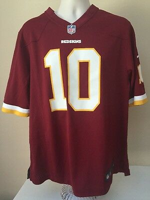 Washington Redskins Robert Griffin III  10 NFL Jersey Nike Men s Large efecbf630