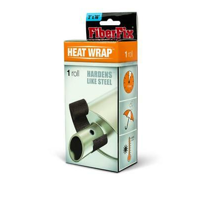 "FiberFix 38501 Heat Wrap For Exhaust Pipes and High Temp Repairs, 2"" x 70"""