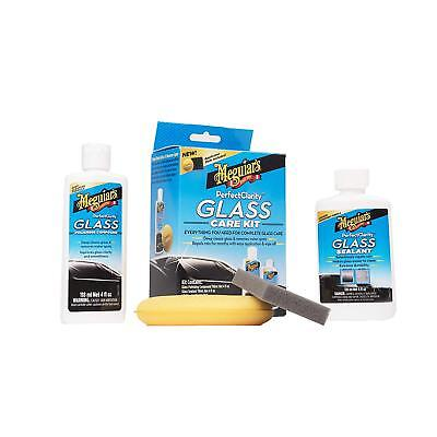 Meguiars G8800 Perfect Clarity Glass Kit, 11 fl. Oz - Glass Cleanere