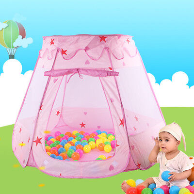 tent toy Play House Princess Game Children's Ocean Ball Baby Indoor Portable