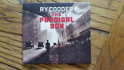 RY COODER - THE PRODIGAL SON - U.S. pressed CD (digipack)  in MINT condition