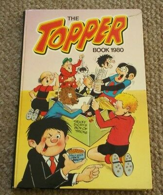 The Topper Book 1980 Hardback Comic Magazine Annual