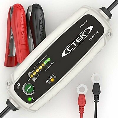 CTEK MXS 3.8 Automatic Battery Charger (Charges Maintains Car and Motorcycle B