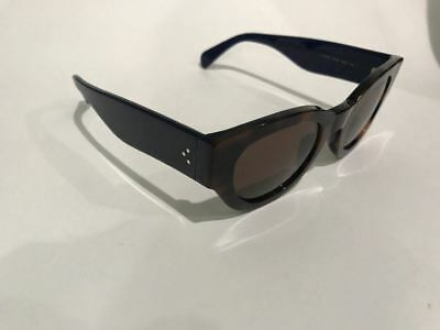 a9e144122b7 Celine CL 41064 S 6TWA6 Havana Navy Sunglasses Made in Italy 100% Authentic  M4