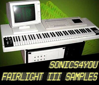 Fairlight CMI III WAV Samples ♪ VERY RARE! ♪ 80s Retro Sounds Library ♪ DOWNLOAD