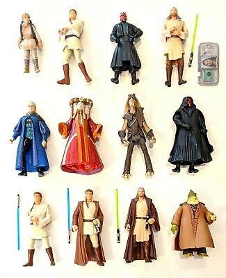 CHOOSE: 1999-2000 Star Wars Episode I Phantom Menace * Action Figures * Hasbro