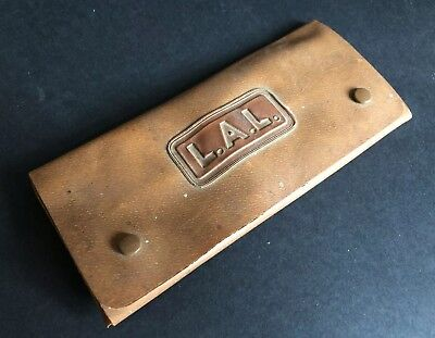 Vintage LAL Tap & Die Set Engineering Engineer's Tools VGC Plastic Wrap Case