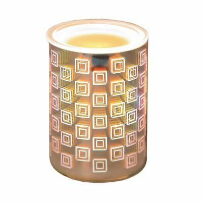 Aromatize 3D Electric Wax Melt Burner -Yankee Candle Melts -Neon Square Straight