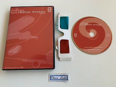 CFM International - Virtual Airshow June 2003 - PC - EN - Avec Lunettes 3D