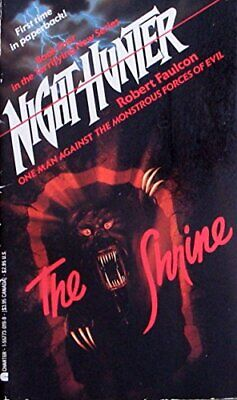 The Shrine (Night Hunter) by Faulcon, Robert Book The Cheap Fast Free Post