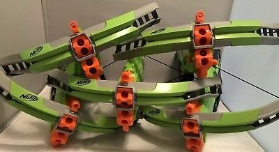 Lot (5) Nerf Zombie N Strike Elite Crossfire Bow Blaster Gun Crossbow