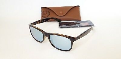 0c4f36a5fd RAY BAN RB 4202 ANDY Sunglasses 710 Y4 55-17 145mm Tortoise Silver ...