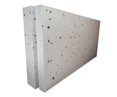 40mm White Polystyrene Board (EPS) for External Wall Insulation (pack of 15)