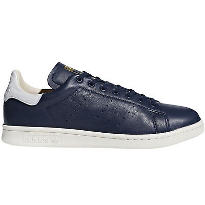 adidas Originals Mens Stan Smith Recon Casual Lace Up Trainers Sneakers - Navy