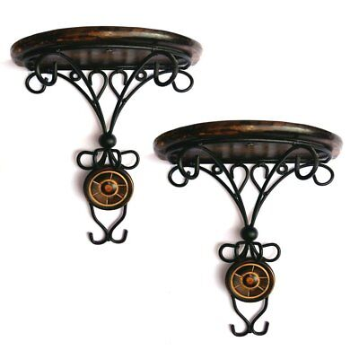 Indian Cultura Wooden Wall Bracket Wall Hanging Decor For Living Room( Combo)