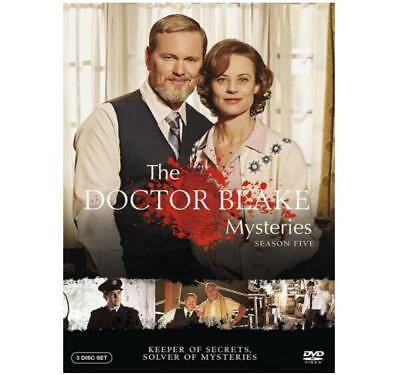 The Doctor Blake Mysteries Season 5 TV Series (3-Disc Set) New Sealed US Seller