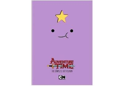 Adventure Time: The Complete Sixth Season TV (DVD, 2016, 3-Disc Set) New Sealed