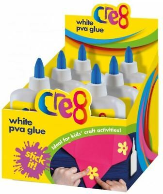 White Multipurpose Water Based Non-Toxic Pva Glue Children Art & Craft 250Ml