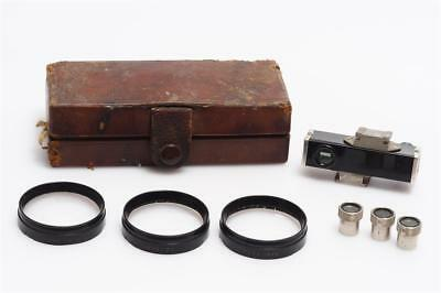Zeiss Ikon Contameter 1343 Close-Up Attachment Nickel W.537