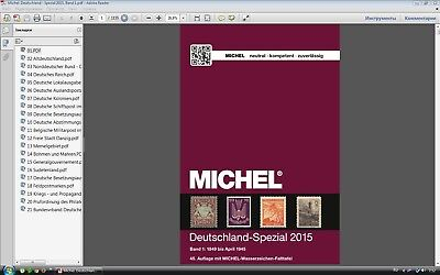 Michel Deutschland Spezial 2015 Band 1 German stamps catalog in PDF