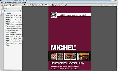 Michel Deutschland Spezial 2015 Band 2 German stamps catalog in PDF