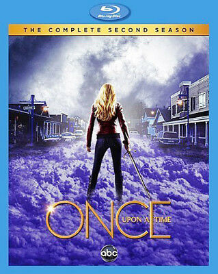 Once Upon a Time: The Complete Second Season (Season 2) (5 Disc) BLU-RAY NEW