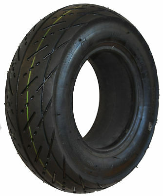 300 x 5 Black Infilled Scallop mobility scooter Tyre