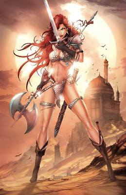 Pre-Order: RED SONJA #1 Jamie Tyndall VIRGIN Exclusive! LIMITED TO ONLY 500!!