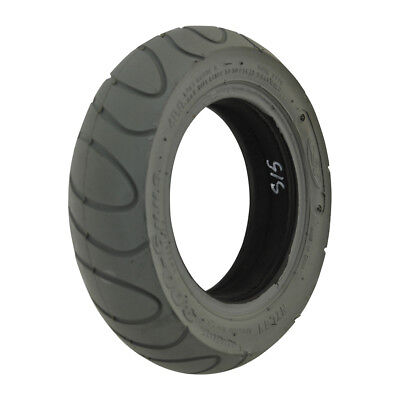 300 x 6 Grey Infilled Scallop mobility scooter Tyre (Storm Type)