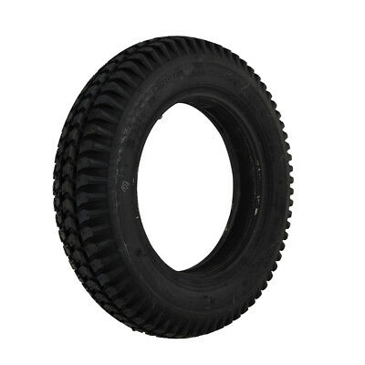 300 x 8 Black Infilled Block mobility scooter Tyre