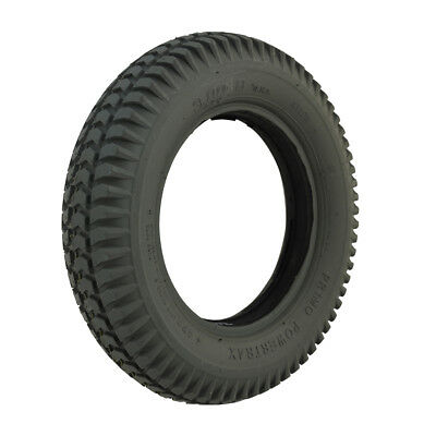 300 x 8 Grey Block mobility scooter Tyre & Flat insert (Pride Type)