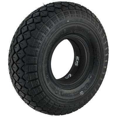 400 x 5 Black Infilled Block mobility scooter Tyre