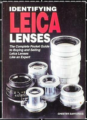 IDENTIFYING LEICA LENSES - The Complete Pocket Guide
