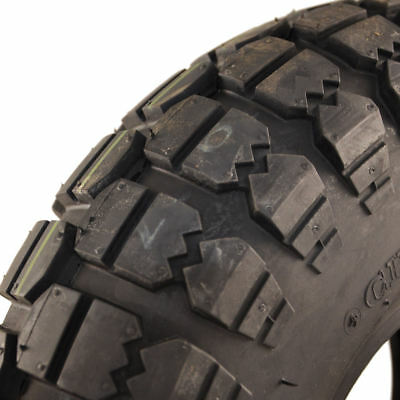 400 x 6 Black Infilled Block mobility scooter Tyre