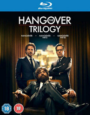The Hangover - Trilogy (3 Films) Movie Collection Blu-Ray [Uk] New Bluray