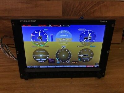 Dynon Skyveiw Glass Panel Dual Screen Synthetic System